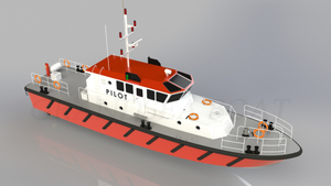 Grandsea 20m Steel/aluminum Hull/cockpit Harbor Launch Pilot Boat for Sale