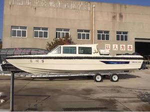 38ft FRP Coastal And River Police Boat with Outboard Engine for Sale