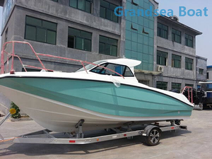 7.2m Fiberglass Speed Deep Sea/Tuna Fishing Boats for sale