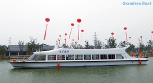 120 seats steel passenger ferry boat for sale