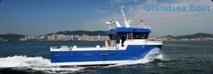 15m Aluminum Catamaran Work And Utility Boat for Sale