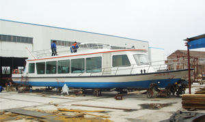 21m Steel Lake River 80 persons Small Ferry Boat Ship for sale