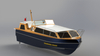 Grandsea 40ft Fiberglass Naval Admirals Ceremonial Craft Boat for Sale