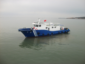 Grandsea 22m Steel River And Sea Offshore Research And Survey Boat for Sale