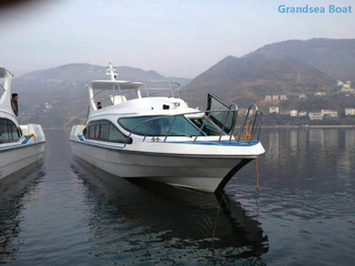 15.8m 47 Persons Fiberglass Passenger Ferry Inboard Engine Boats for Sale
