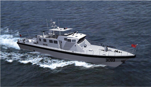 32m Fiberglass High Speed Patrol Boat