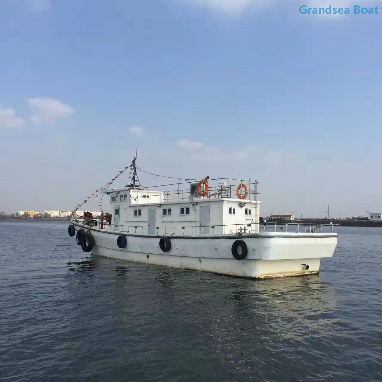 21 3m Commercial Trawler Fishing Boat, Tuna Boat for Sale