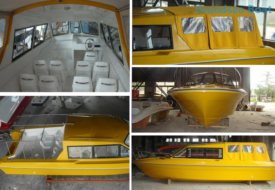 29ft Fiberglass Cabin Patrol And Police Boats for Sale