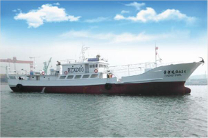 150ft/45m Steel Ocean Tuna Commercial Fishing Boat Ship for sale