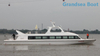 100 Perons Fiberglass Passenger Ferry Boats for Sale