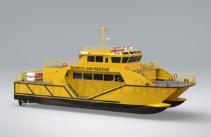 China 100 Ft/30m Marintime Ambulance/fire Fighting/search And Rescue Catamaran Work Vessel for Sale