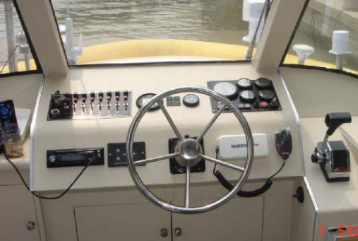 China 38ft 40 Passenger FRP Color Water Taxi Boat for Sale