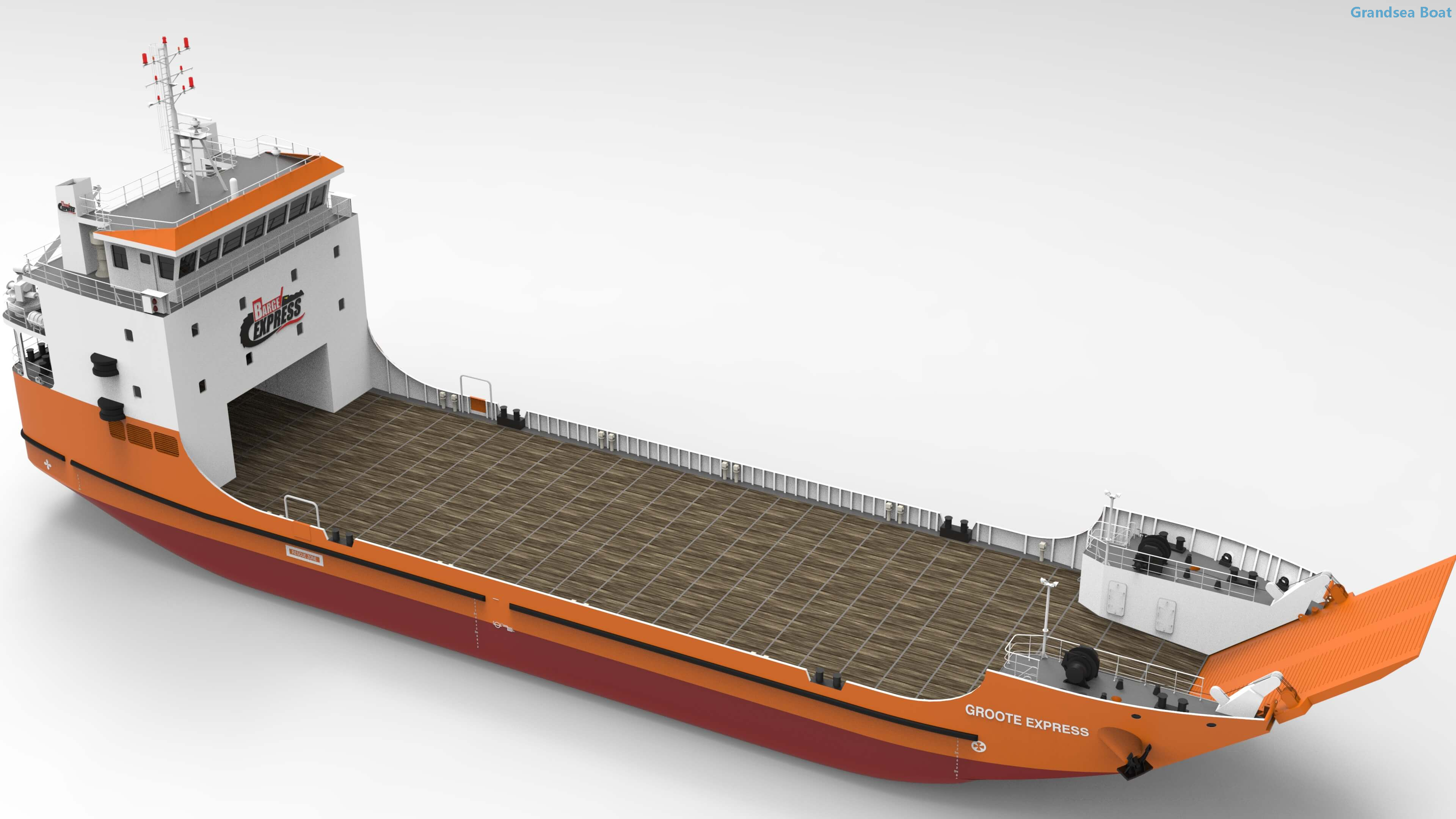 LCT 65m Cargo RORO Landing Craft And Fuel Carrier