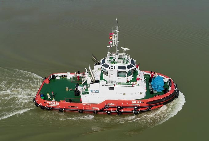 Grandsea 30m Steel ASD Tug Boat/work Boat/towing Vessel for Sale