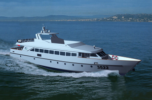 200 seats passenger fast speed ferry boats for open sea