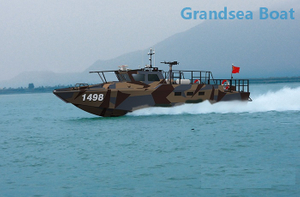 15m Aluminum High Speed Intercept And Assault Boat And Combat Craft for Sale