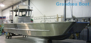 8.8m military aluminum Landing Craft boats for sale