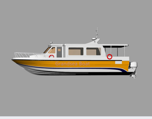 Fiberglass Speed Passenger Diving Boat For Sale