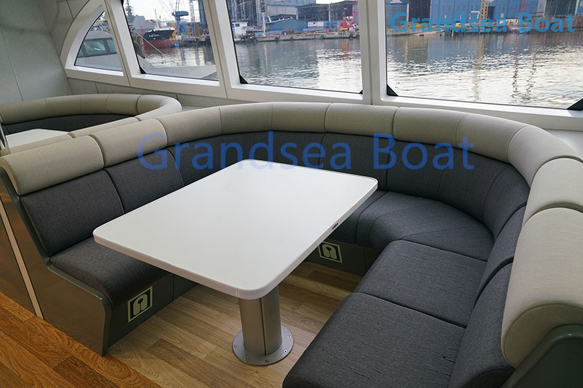 35m 200perons Aluminum Hull Fast Passenger Ferry Boat for Sale
