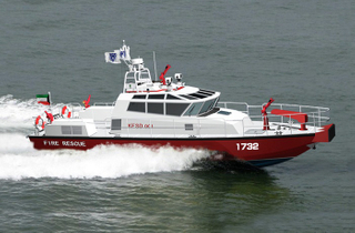 Grandsea Boat 17m 57ft Fire Rescue Work Boat for Sale