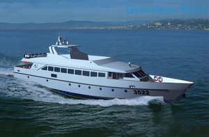 199seats Aluminum Hull Fast Passenger Ferry Boat for Sale
