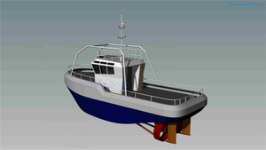 Grandsea Offshore Use 16m 1600hp Steel Tug Boat for Sale