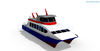 50 Seats/persons High Speed Aluminum Catamaran Ferry Boats for Sale
