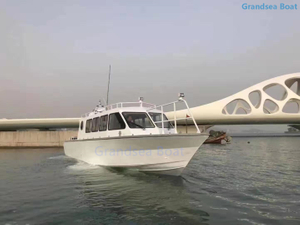 40ft Aluminium Work Passenger Crew Boat for Sale